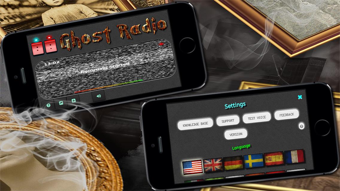 Ghost EVP Radio