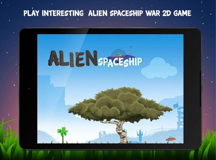 Giant Alien Spaceship