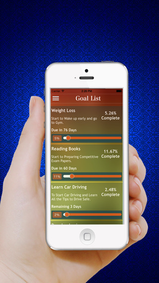 Goal Tracker – Track your Daily Habits,Tasks,Health,Dreams & set personal goals