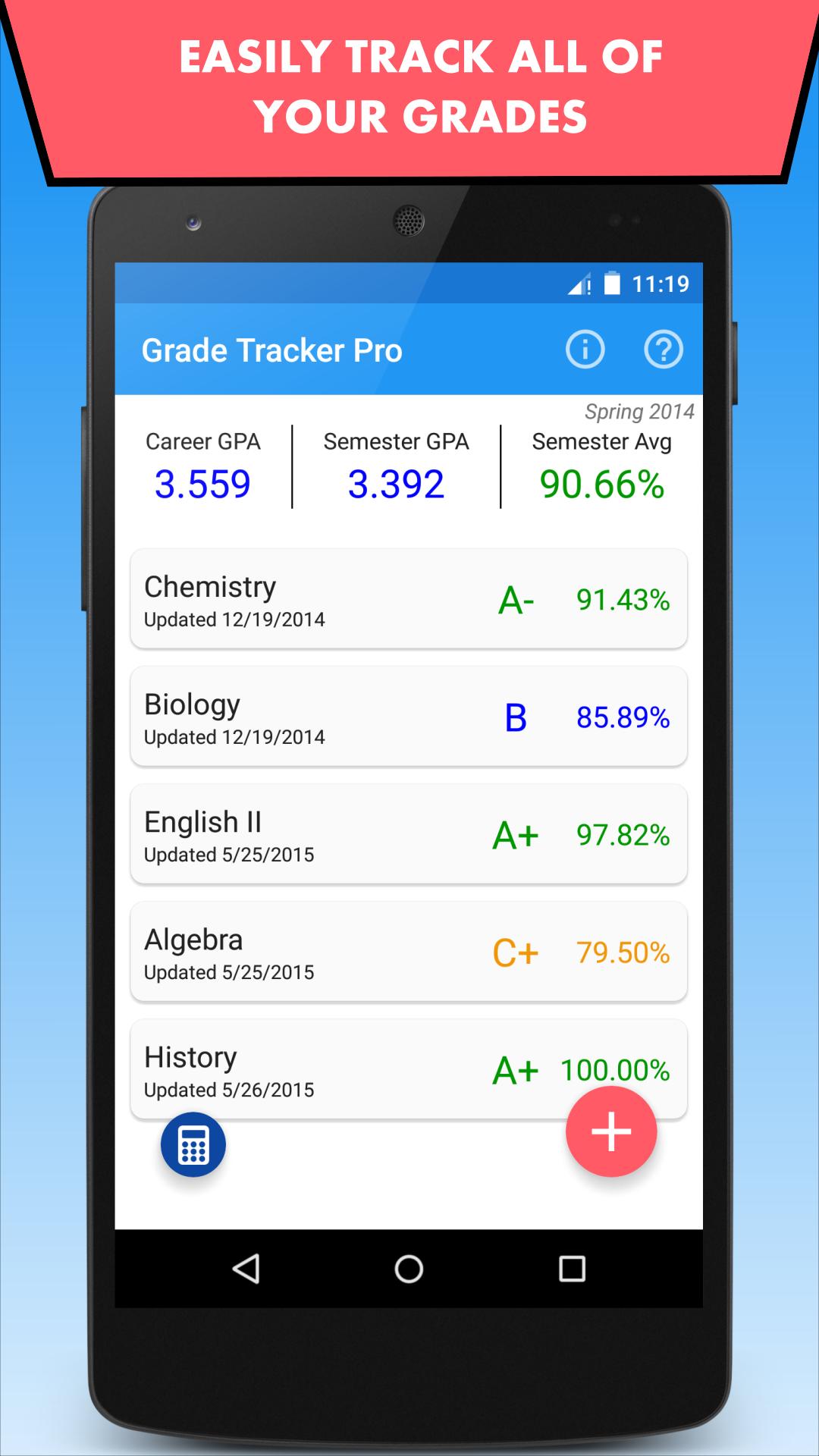 Grade Tracker Pro