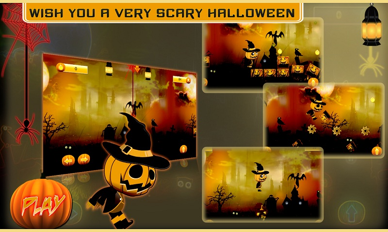 Halloween Fortune knight Run