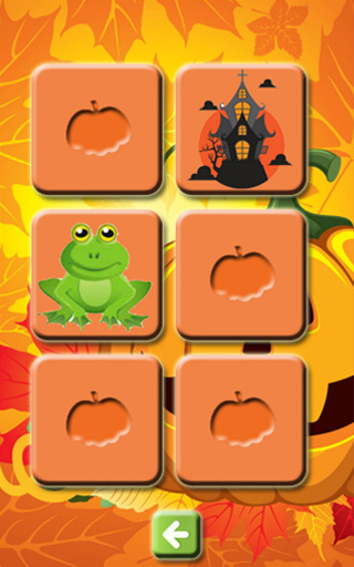 Halloween Memory Game for Kids