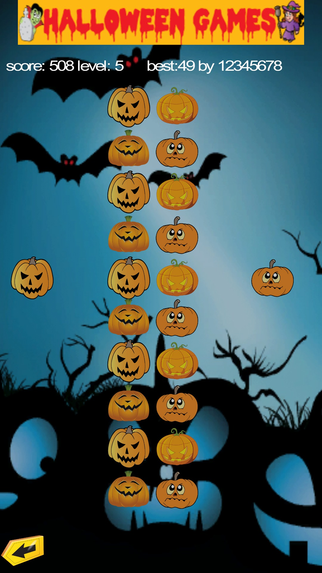 Halloween Pumpkin Puzzle