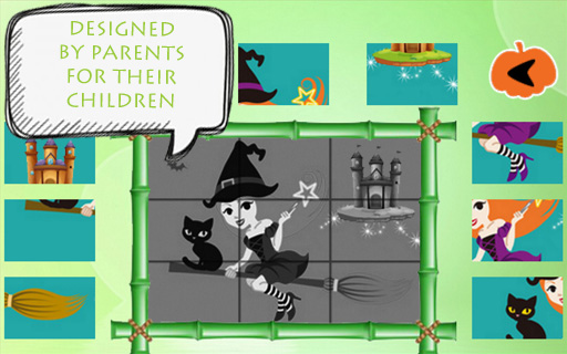 Halloween Puzzles for kids