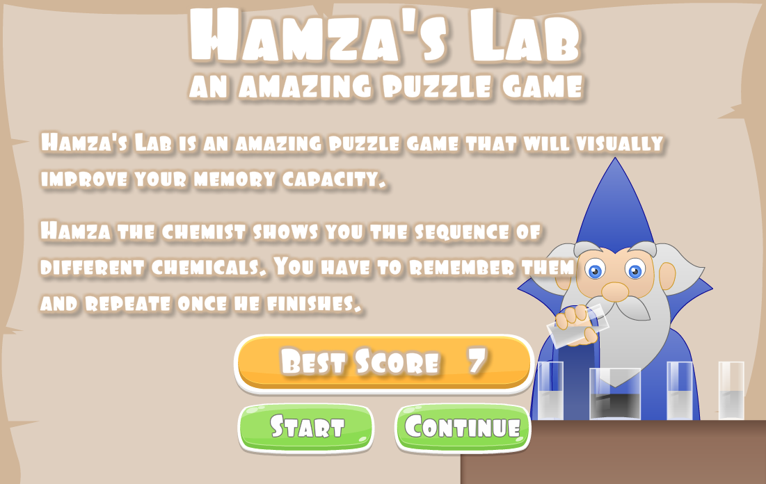 Hamza's Lab – Top Puzzle Game
