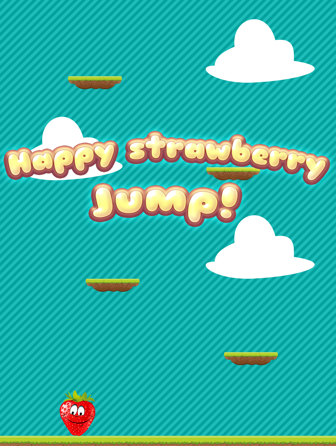 Happy Strawberry Jump
