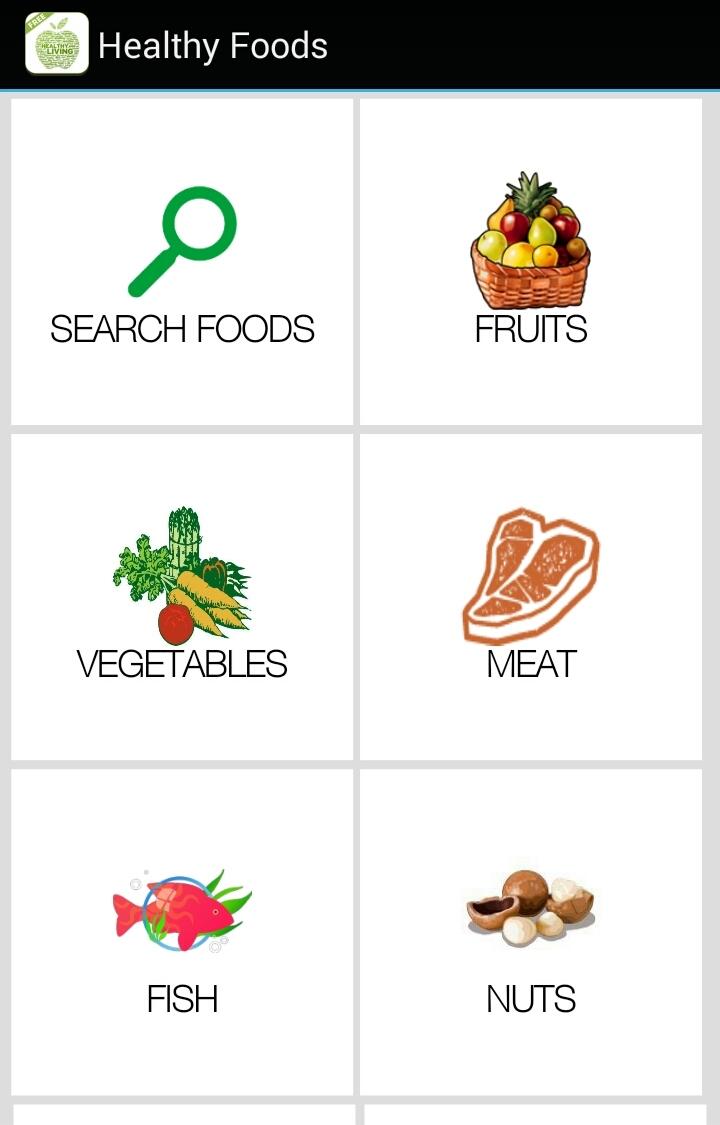 Healthy Food List
