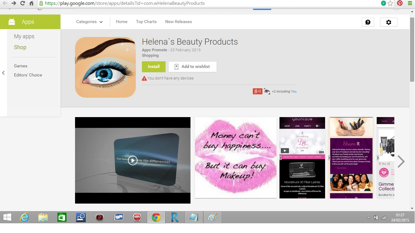 Helena`s Beauty Products