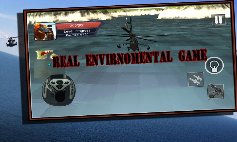 Helicopter Air Gunship War
