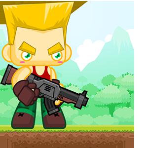 Hero Soldier Jump