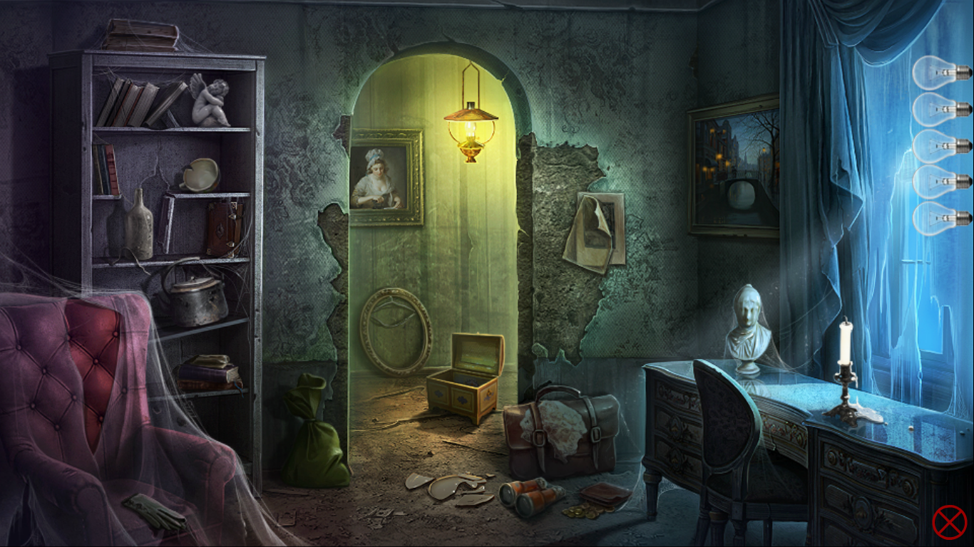 Hidden objects – Old house.