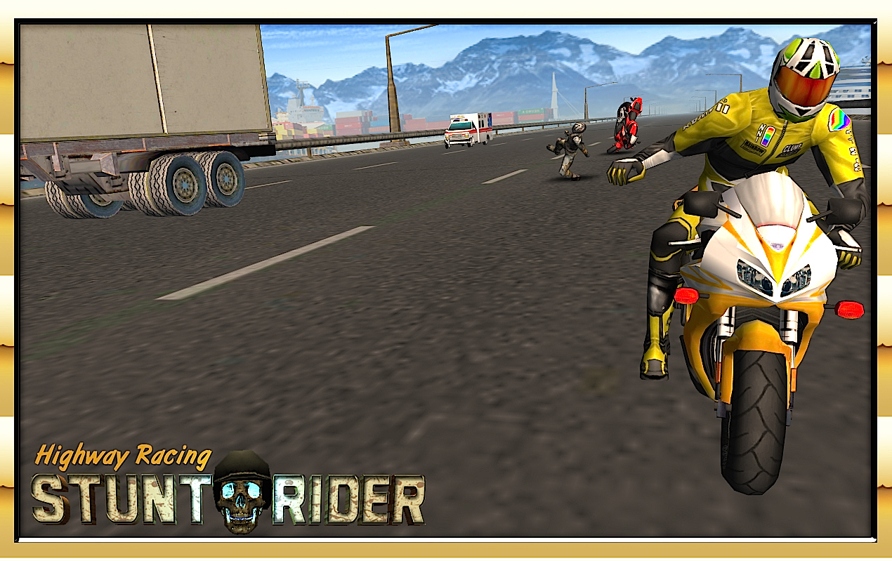 Highway Racing Stunt Rash