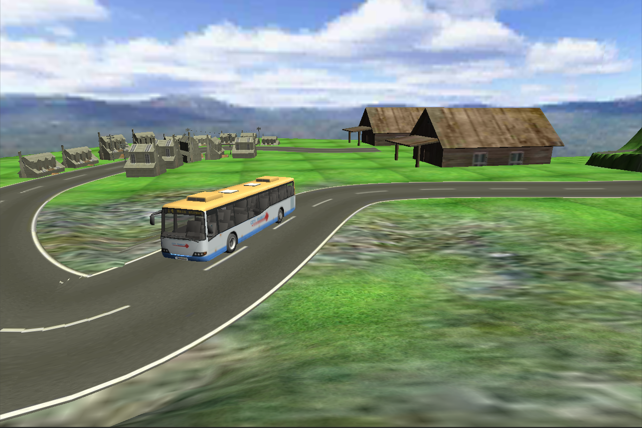 Hill Climbing Bus Simulator