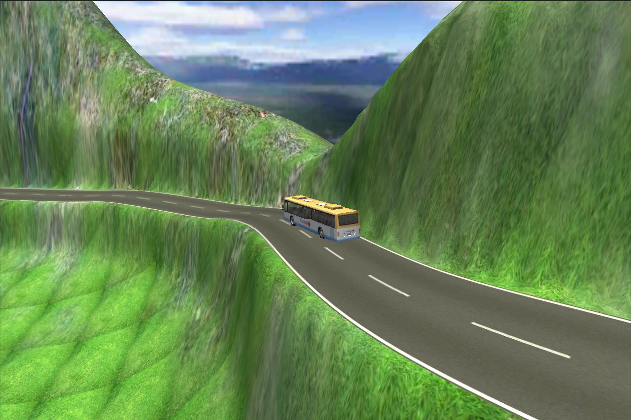 Hill Climbing Bus Simulator