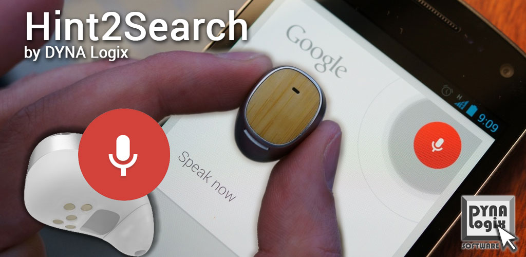 Hint2Search Bluetooth Headset to Google Now