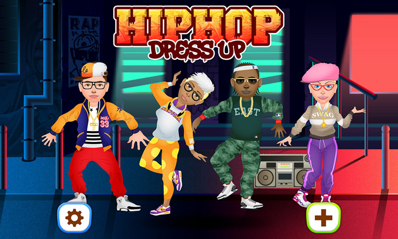 Hip Hop Fashion Stars Dress Up
