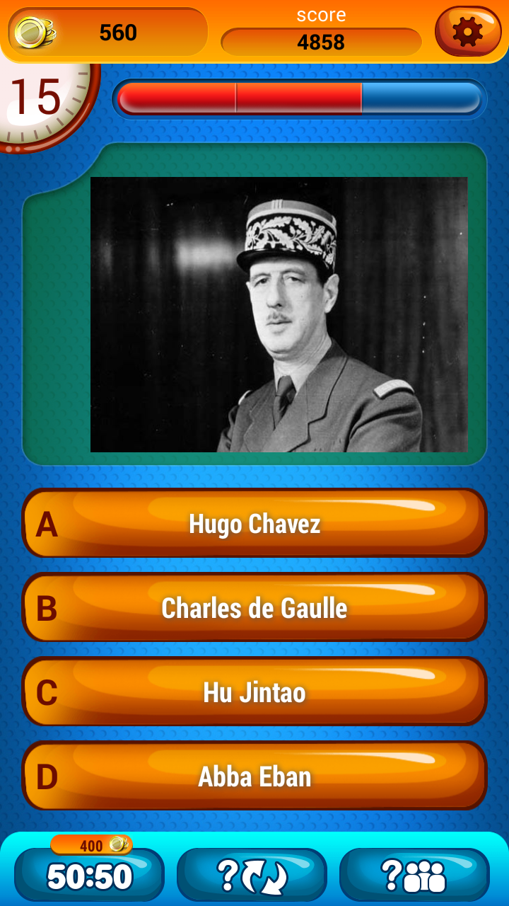 History Trivia Game