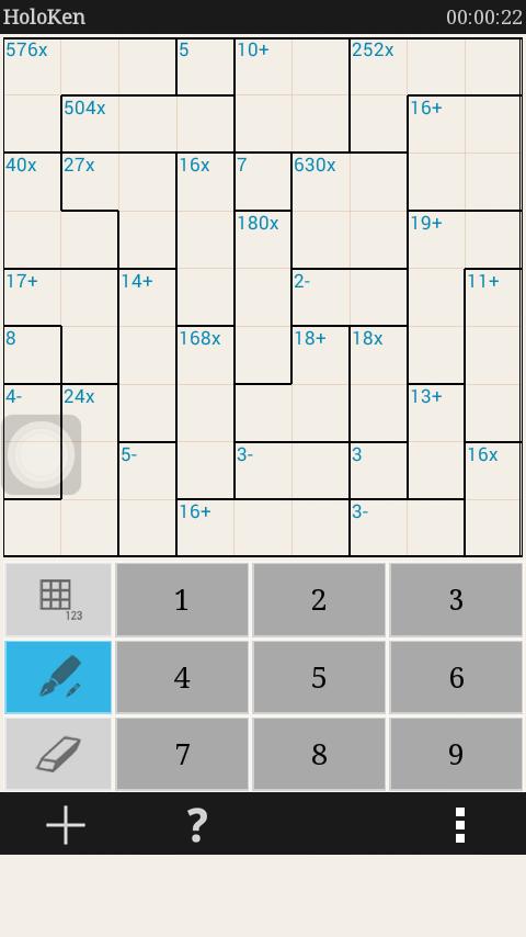 Holoken Sudoku
