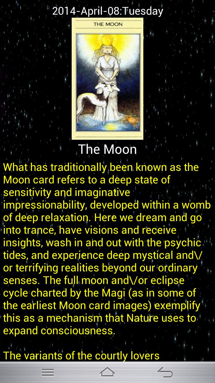 Horoscope 2015 – Free Tarot