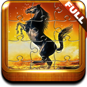Horse Jigsaw Puzzle Game