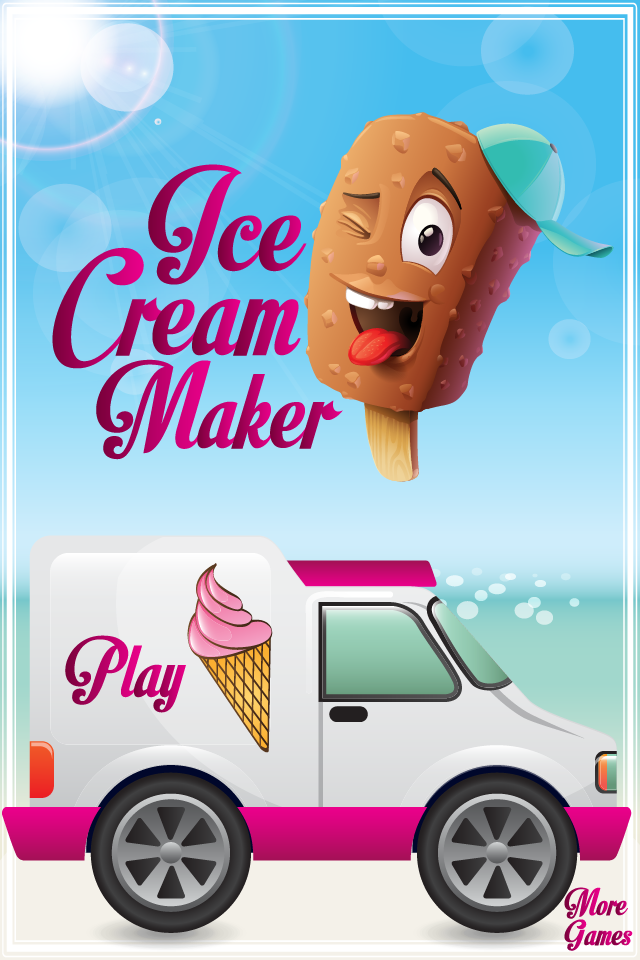 Ice cream dessert maker – game