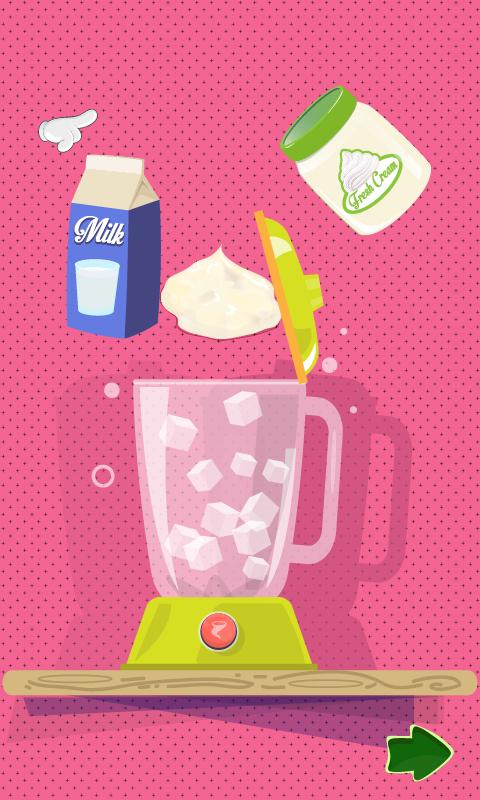 Ice cream dessert maker – game