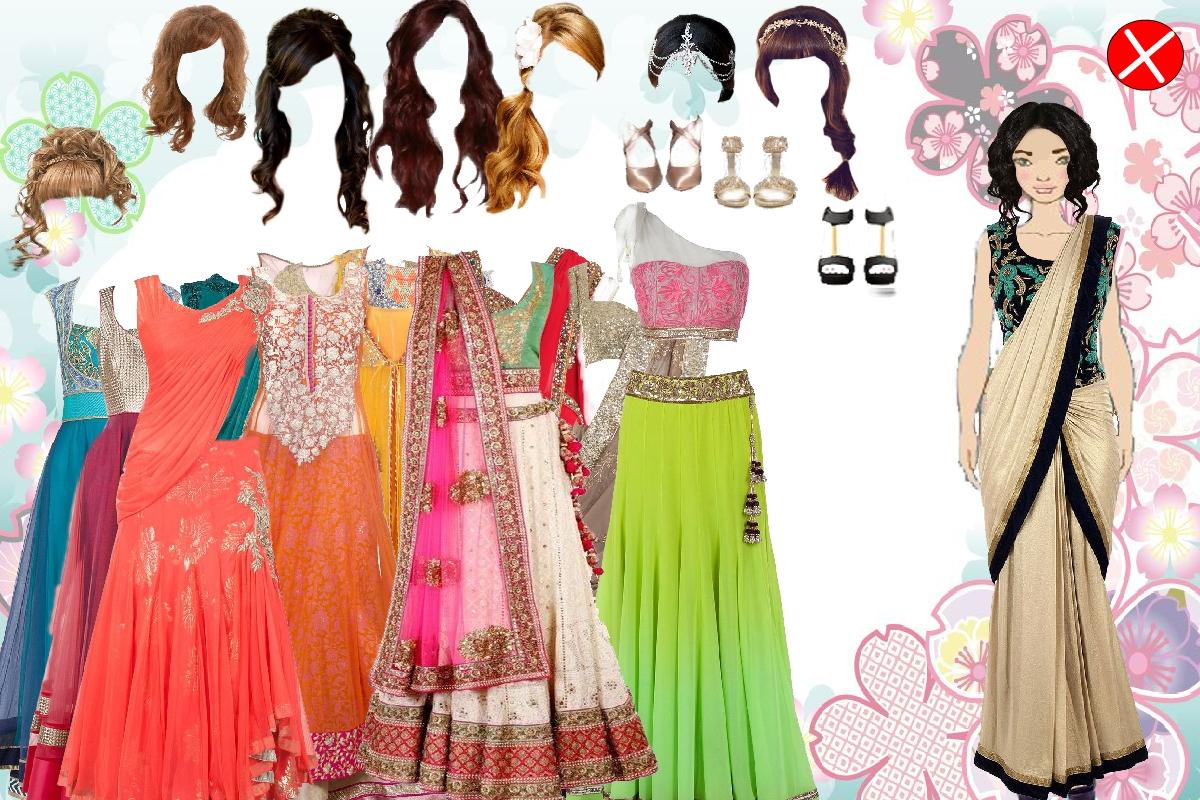 Indian magical girl dress up