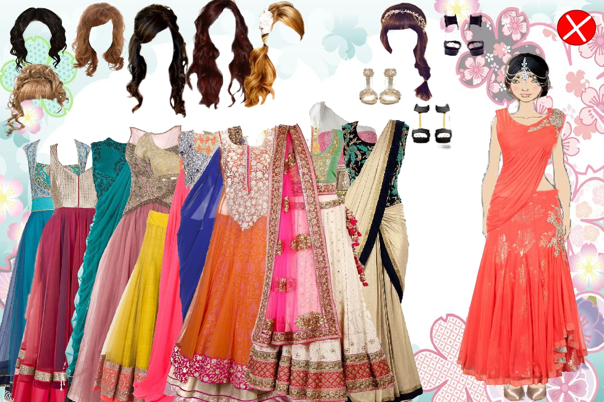 Indian magical girl dress up