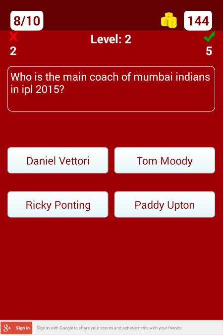 IPL Quiz 2015