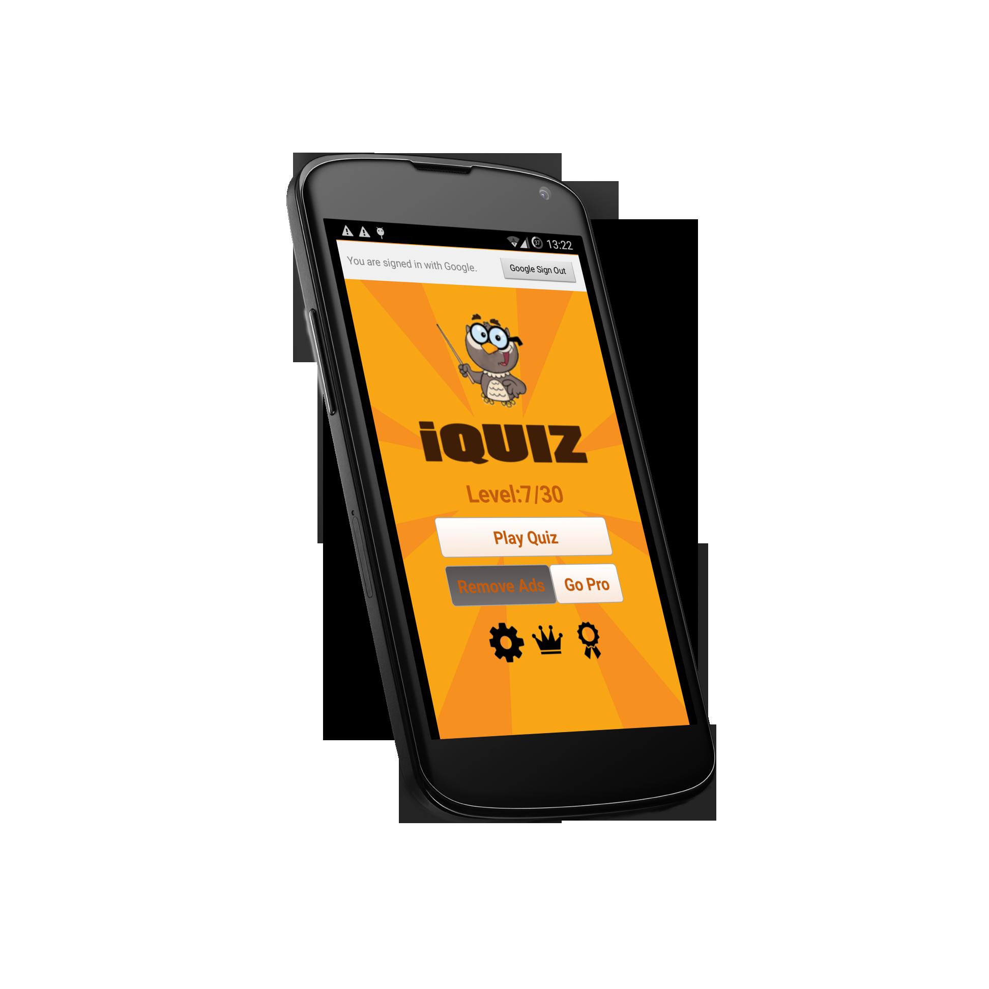 IQUIZ – Knowledge Quiz