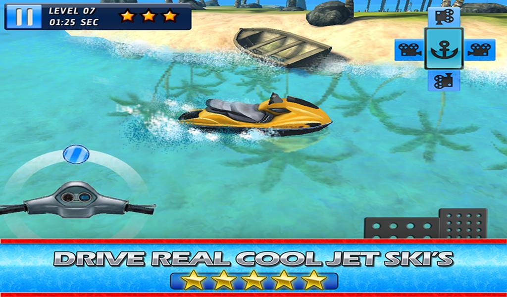 Jet Ski 3D Boat Parking Race
