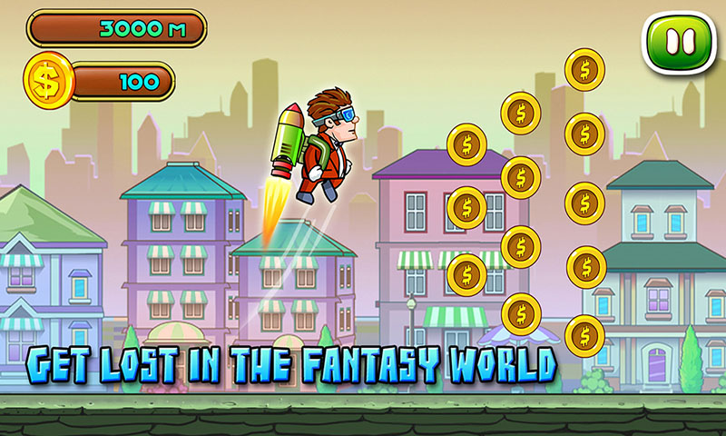 Jetpack Jackride – Free Game