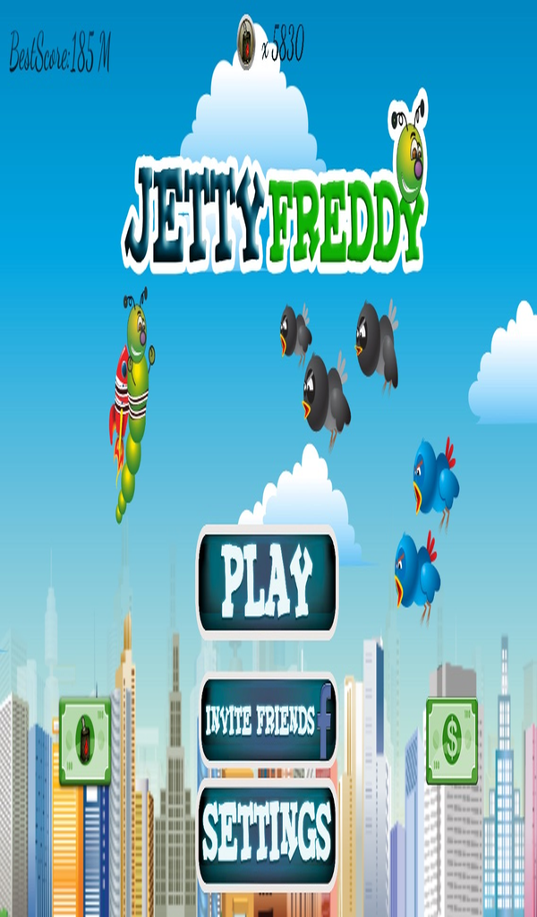 Jetty Freddy: Adventurous Jet Pack Takeoff