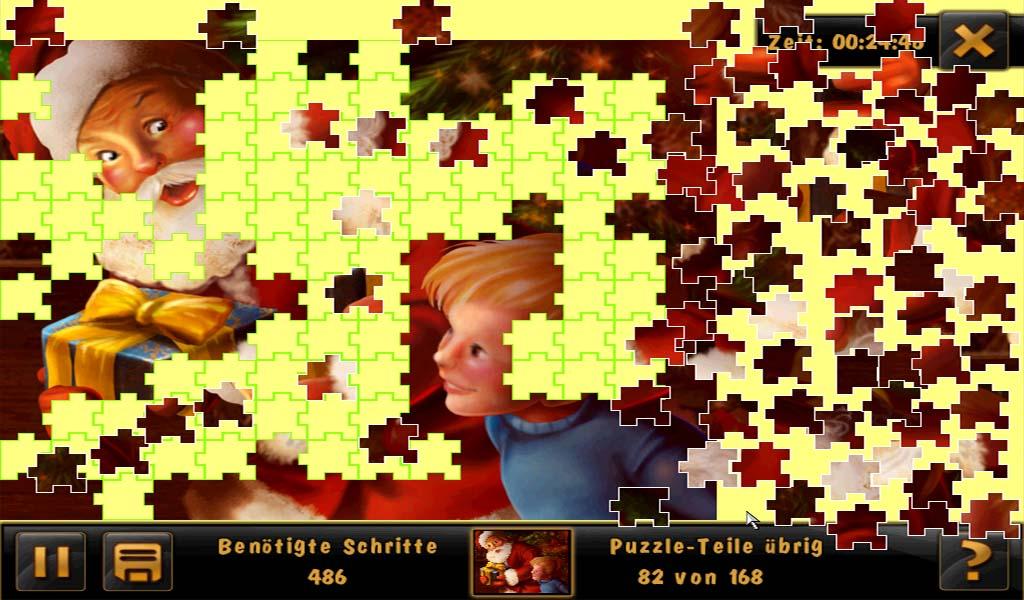Jigsaw mini Puzzle X-mas