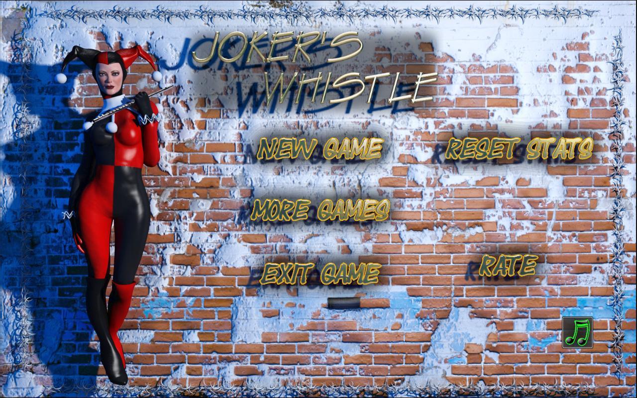 Joker's whistle: Free slots