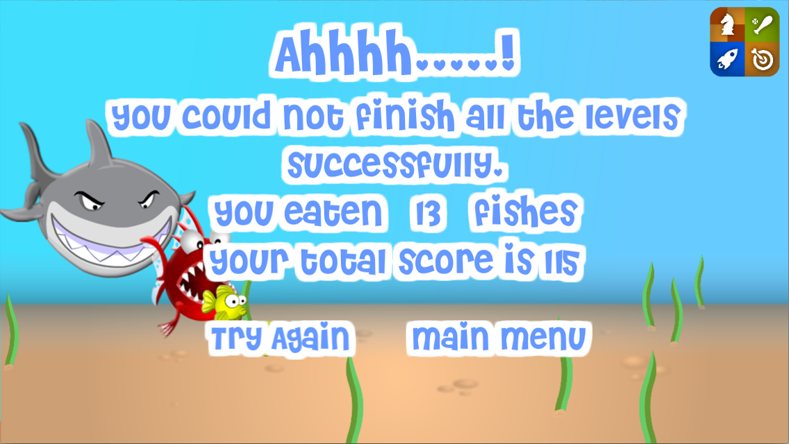 Journey of Hungry Fish