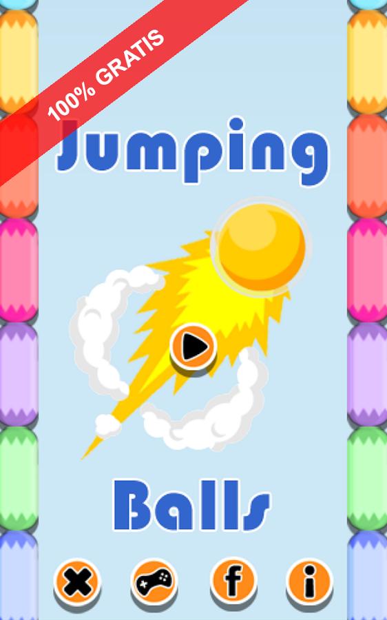 Jumping Balls. Bouncy Balls
