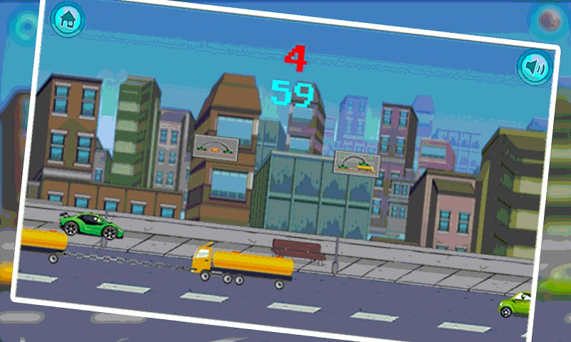 Jumpy Car addicting game