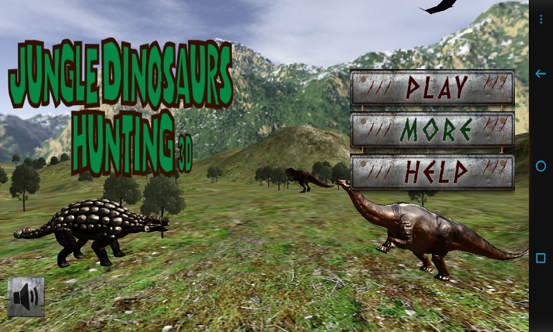 Jungle Dinosaurs Hunting