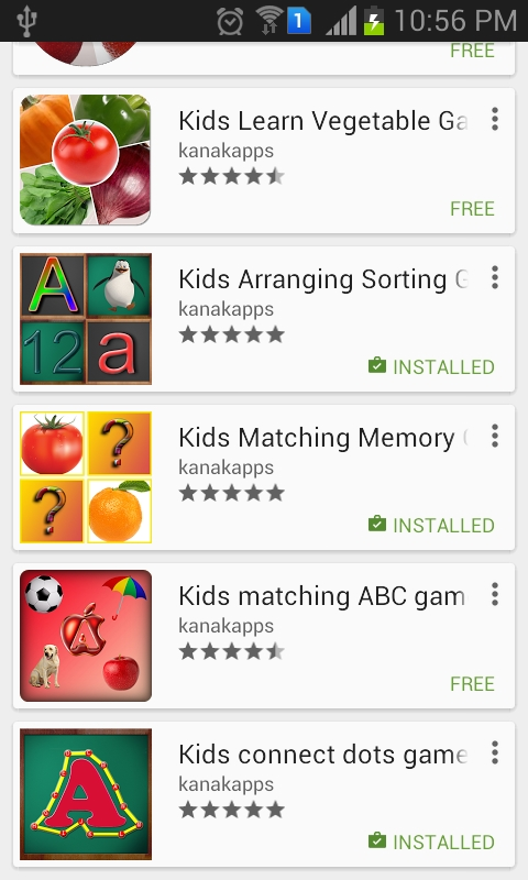 Kids counting game
