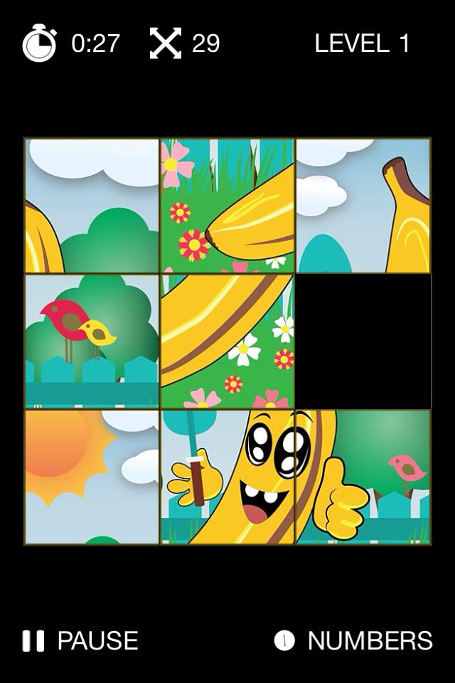 Kids Slide Puzzle