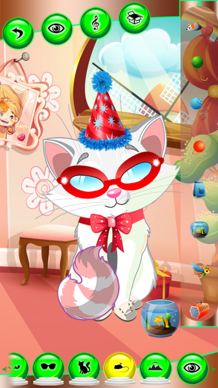 Kitten Dress Up Games