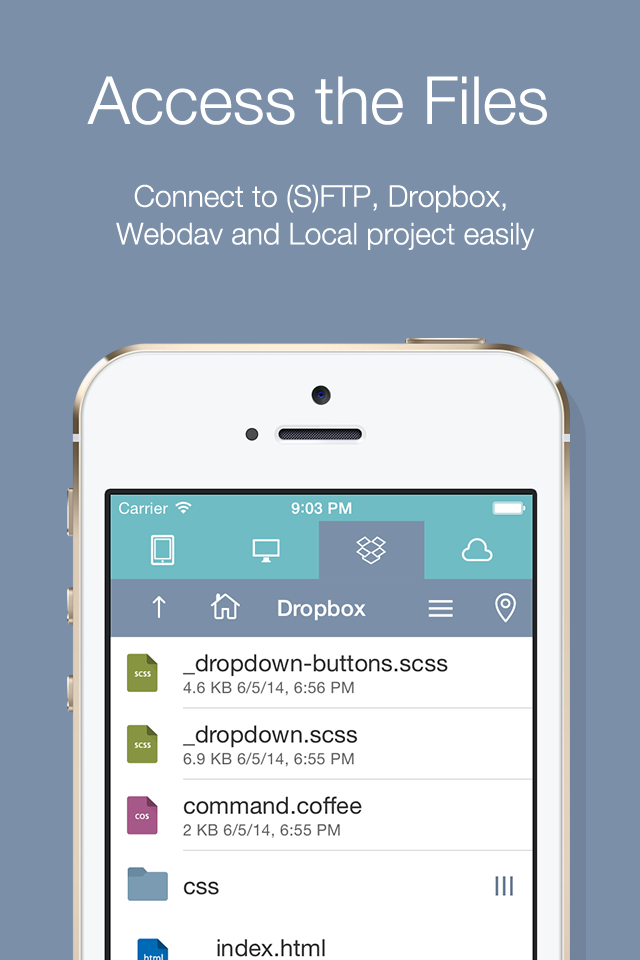Koder Code Editor for iOS