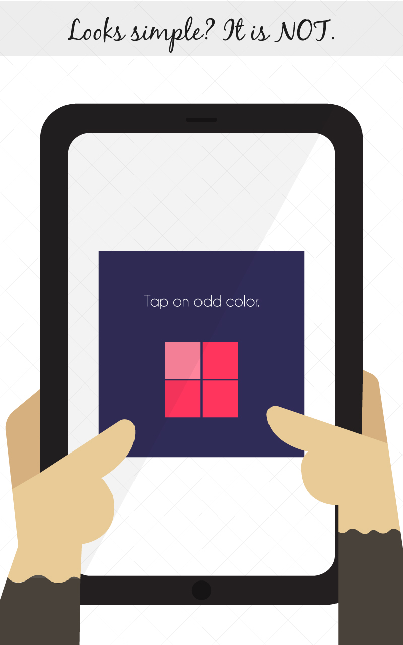 KukuKube Puzzle: Oddy Colors