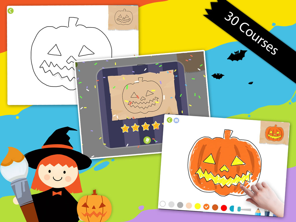 Labo Halloween Drawing Lessons