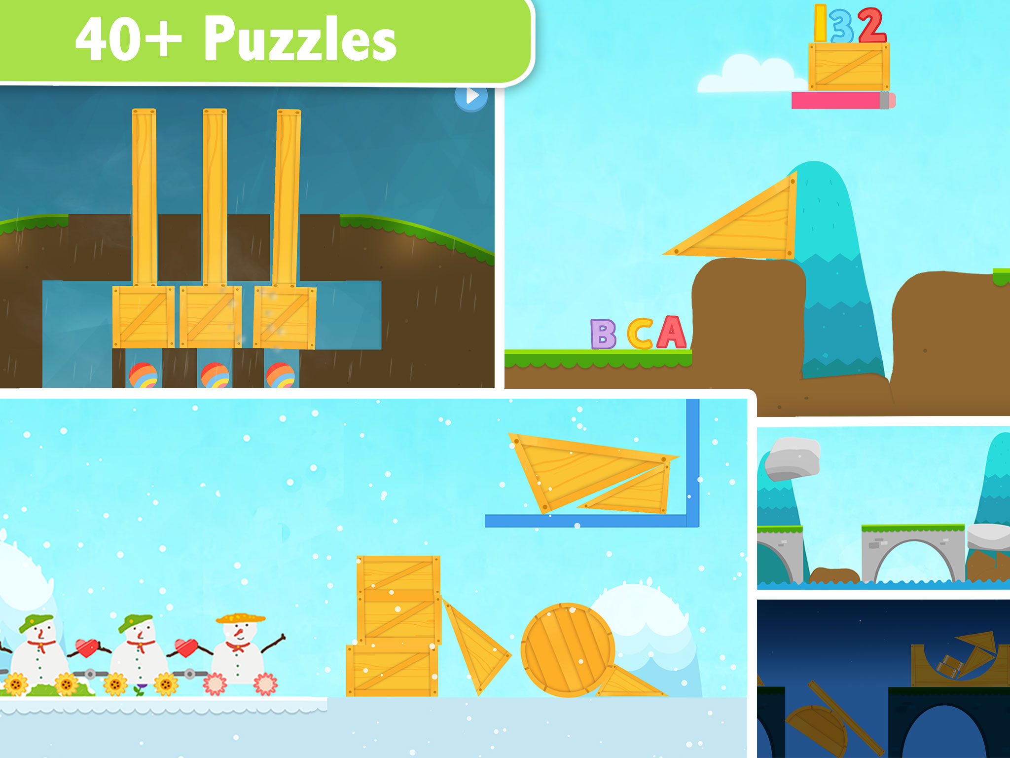 Labo Train - A creative draw & play road construction game for kids 3-7