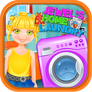 Laundry Washing Girl Star
