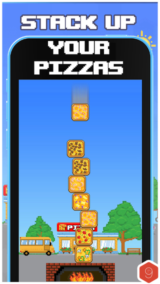 Leaning Tower of Pizza Challenge Game