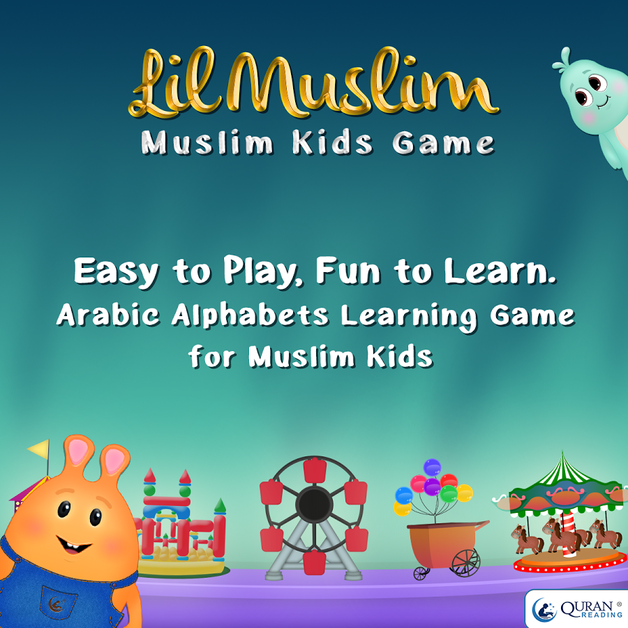LilMuslim Arabic Alphabet Game