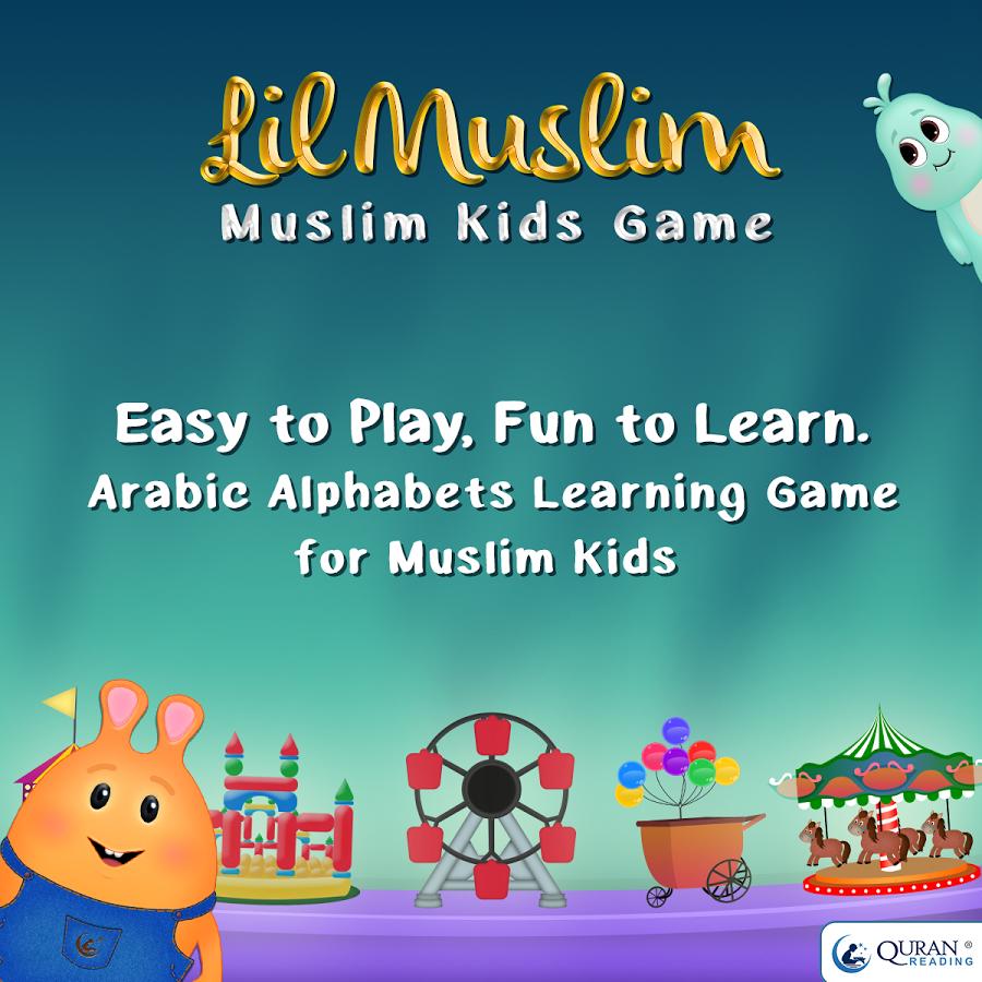 LilMuslim Arabic Alphabet Game